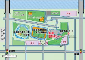 第27回砺波オープンフレッシュテニス大会にご参加の皆様へ【駐車場】